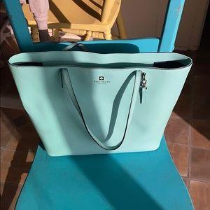 Kate Spade Tiffany blue tote/purse